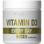 WellAware Vitamin D3 2500IE 120 minitabletter