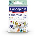 Hansaplast Sensitive Kids Plåster 1 m x 6 cm