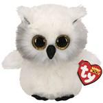 Ty Beanie Boos Austin Owl White Regular