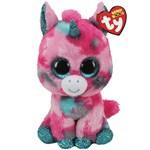 Ty Beanie Boos Gumball Unicorn Pink/Aqua Regular