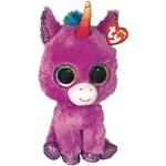 Ty Beanie Boos Rosette Unicorn Purple Regular