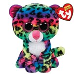 Ty Beanie Boos Dotty Multicolor Leopard Regular