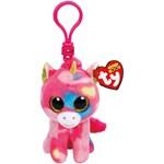 Ty Beanie Boos Fantasia Multicolor Unicorn Clip
