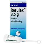 Resulax rektallösning 8,5 g 4 st