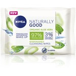 Nivea Naturally Good Wipes 25 st