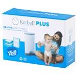 Korbell PLUS Refill till Blöjhink 26 liter 3-pack