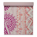 Gaiam 4 mm Yoga Mat Bohemian Rose
