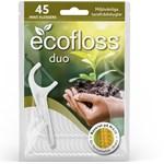 Ecofloss Duo Tandtråd med Hållare 45 st