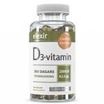 Elexir D3 Vitamin 2500IE 360 kapslar