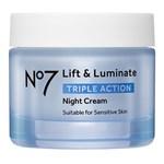 No7 Lift & Luminate Triple Action Night Cream 50 ml