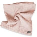 Vinter & Bloom Filt Layered Muslin EKO Dusty Rose 100x80cm