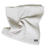 Vinter & Bloom Filt Layered Muslin EKO Dove Grey 100x80cm