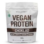 WellAware Vegan Protein Blend Choklad 500 g