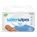 WaterWipes Biodegradable BabyWipes 3x60 st