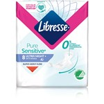 Libresse Pure Sensitive Ultra Night Wing 8-pack