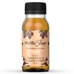 WellBeSleep Shot Äpple/Gurkmeja/Fläder Ekologisk 60 ml