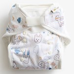 ImseVimse All-In-Two Diaper White Teddy