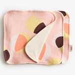 ImseVimse Reusable Face Wipes Pink Hoop 3-pack