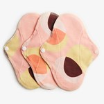 ImseVimse Panty Liners Active Pink Hoop 3-pack