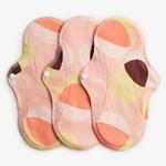 ImseVimse Sanitary Pads Active Regular Pink Hoop 3-pack