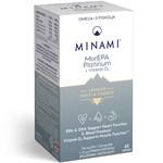 Minami MorEPA Platinum 90% Omega-3 med D-vitamin 60 st