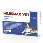 Milbemax vet. för hund tablett 4 st