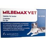 Milbemax vet. för hund tablett 2 st