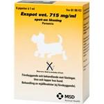Exspot vet. lösning för hund 715 mg/ml 6 x 1 ml