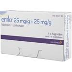 Emla kräm tub 25 mg/g+25 mg/g 5 g