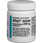 Albyl minor tablett 250 mg 50 st