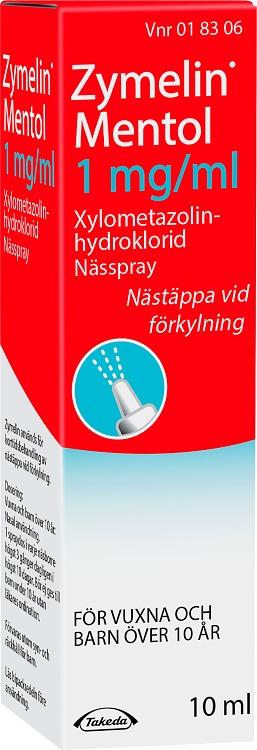 nässpray mot förkylning