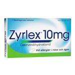 Zyrlex filmdragerad tablett 10 mg 7 st