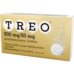 Treo brustablett 500 mg/50 mg 60 st