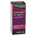 Lomudal ögondroppar 20 mg/ml 5 ml