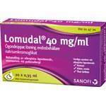 Lomudal ögondroppar endosbehållare 40 mg/ml 20x0,35 ml