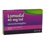 Lomudal ögondroppar endosbehållare 40 mg/ml 20 st