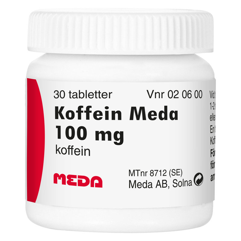 koffeintabletter 100 mg
