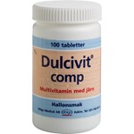 Dulcivit comp tablett 100 st