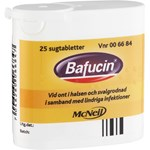 Bafucin sugtablett 25 st