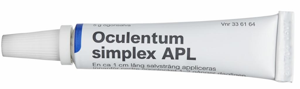 oculentum simplex ögoninflammation