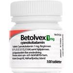 Betolvex filmdragerad tablett 1 mg 100 st