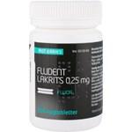 Fludent lakrits sugtablett 0,25 mg 200 st
