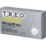 Treo Citrus brustablett 500 mg/50 mg 60 st