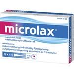 Microlax rektallösning tub 4x5 ml