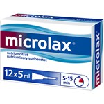 Microlax rektallösning tub 12 x 5 ml