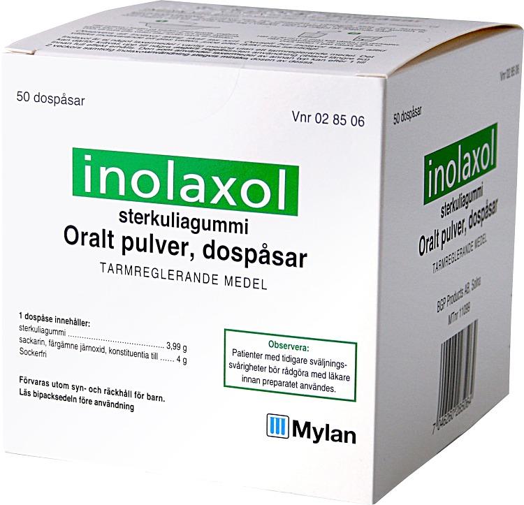 inolaxol granulat dospåse