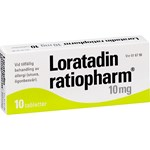 Loratadin ratiopharm tablett 10 mg 10 st