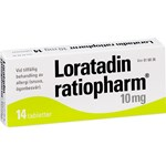 Loratadin ratiopharm tablett 10 mg 14 st