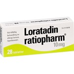 Loratadin ratiopharm tablett 10 mg 28 st