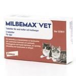Milbemax vet. för små katter och kattungar tablett 2 st